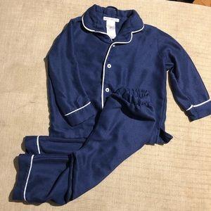 Pottery Barn navy pajamas 3T